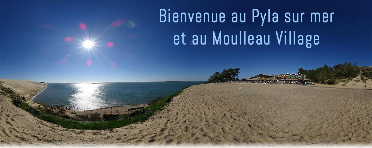 Pyla-sur-Mer est une station balnéaire française de l'Atlantique, à l'entrée du bassin d'Arcachon, dans le département de la Gironde.