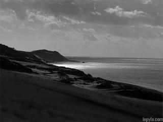Le Petit Nice depuis la dune