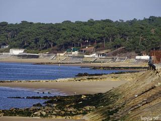 les plages du Pyla à marée basse