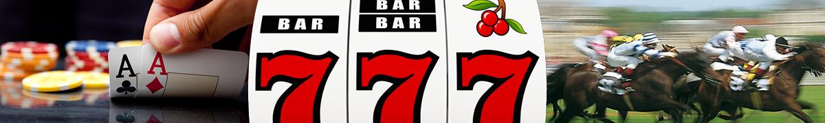 Les casinos, jeux et champs de courses au pyla sur mer et au Moulleau