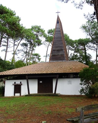 L'église du Pyla