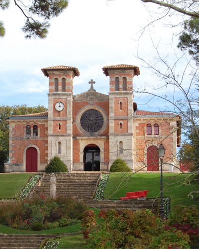 L'église du Moulleau