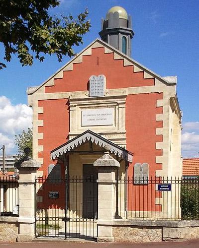 La synagogue d'Arcachon