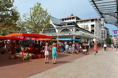 Le marché d'Arcachon