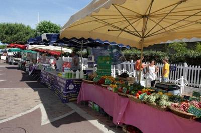 Le marché bio du Moulleau