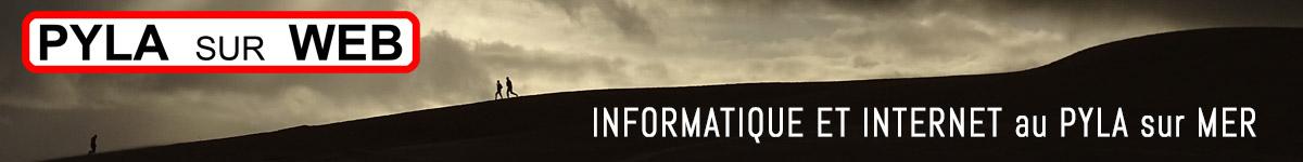 Informatique, site internet dépannage, formation et sites webs au Pyla sur mer et au Moulleau