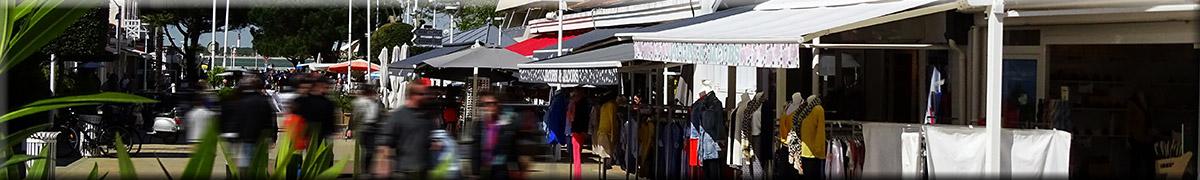Commerces de proximité et boutiques au Pyla sur mer et au Moulleau