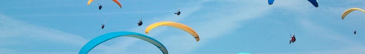 Activités aux pyla aériennes et dans les airs