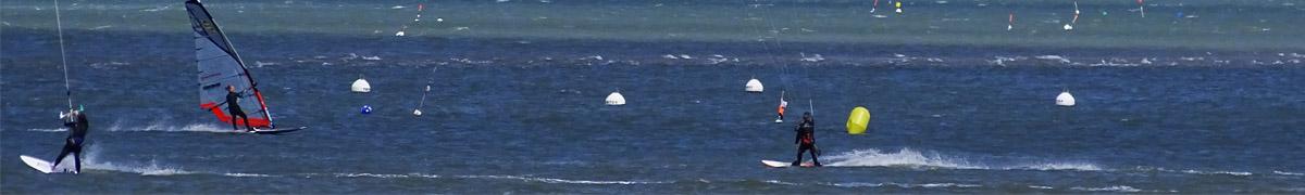 Activités aux pyla maritimes, nautiques dans et sur l'eau