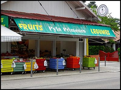 Pyla primeurs, fruits et légumes au Pyla
