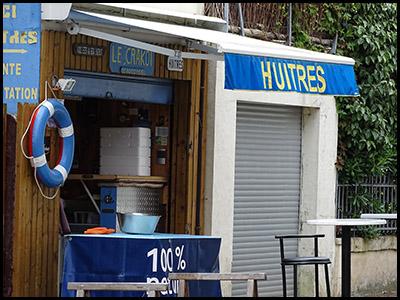 Les Huîtres du Moulleau, écailler au Moulleau