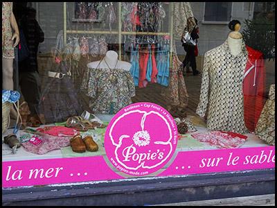 Popie's, Prêt à porter femme au Moulleau