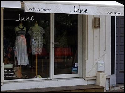 June, Prêt à porter au Moulleau