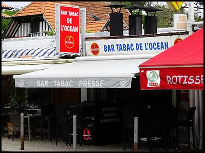 L'Océan, bar, tabac PMU, presse au Pyla