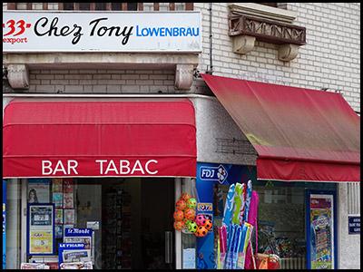 Chez Tony, bar, tabac PMU, presse au Moulleau