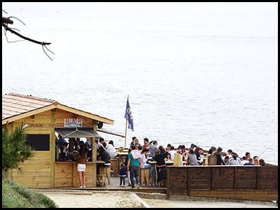 Le Blockhaus, bar café au Pyla sur mer