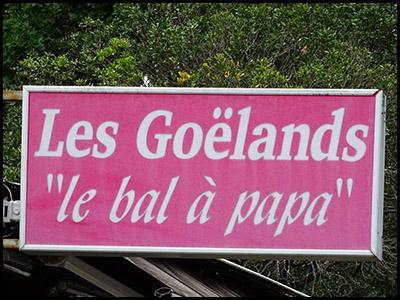 Les Goélands, bar café au Pyla sur mer
