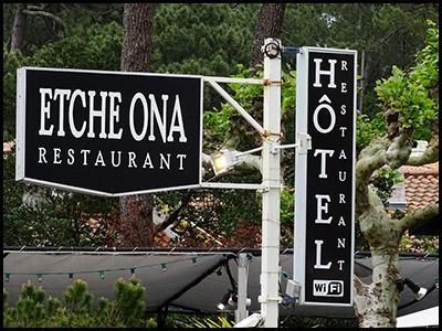 Etche Ona, restaurant au Pyla sur mer