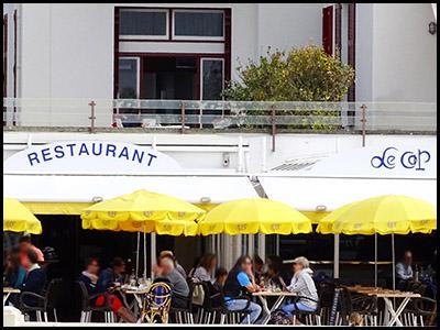 Le Cap, restaurant au Moulleau village