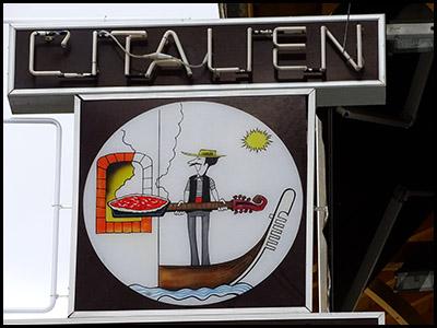L'italien, pizzeria au Moulleau village