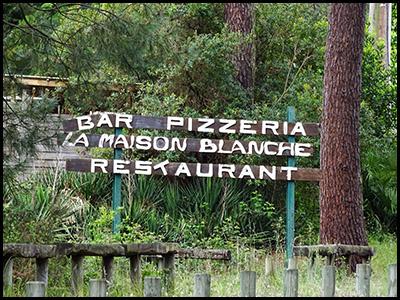 La Maison Blanche, pizzeria au Pyla océan