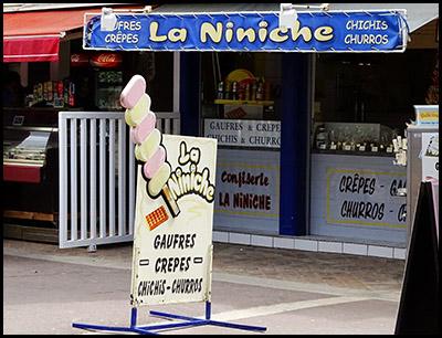 La Niniche, confiseries au Moulleau village