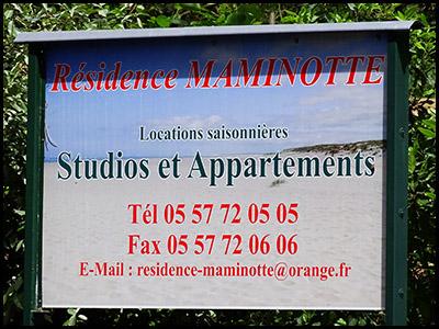 Résidence Maminotte, appartement au Pyla sur mer