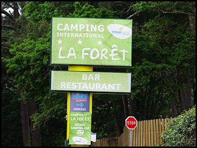 La Forêt, camping au Pyla sur mer