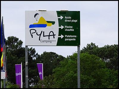 Pyla Camping, camping au Pyla sur mer