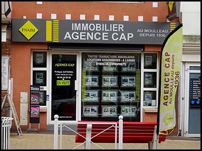 Agence Cap, agence immobilière au Moulleau village
