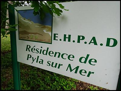Résidence de Pyla sur mer, maison de retraite médicaliséeau Pyla