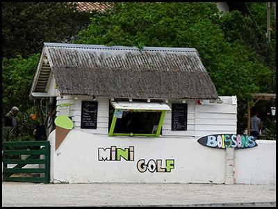 Mini-golf du Pyla, 18 trous pour s'amuser