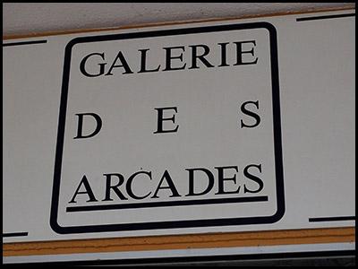 Galerie des arcades, le Moulleau