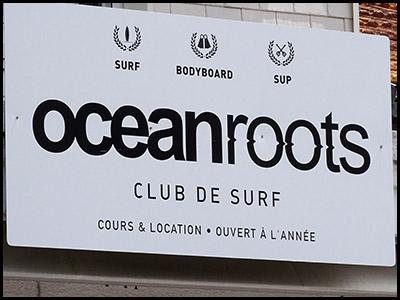 Ocean Roots, école de surf, Pyla océan