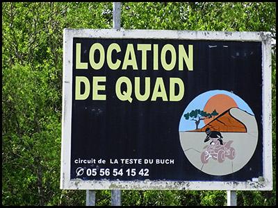 École de Pilotage Elf Moto, circuit quad et moto