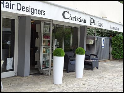 Christian Philippe, salon de coiffure au Moulleau