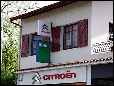 Garage Boijoux et fils, garage Citroën au Moulleau