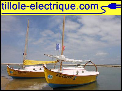 La Tillole électrique bateau-tillole