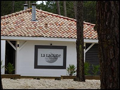 La lagune restaurant au bord de la plage