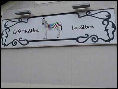 Café-théâtre Le zèbre à Arcachon