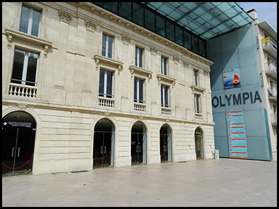 Théâtre Olympia, concerts, ballets et théâtre