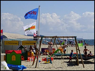 Club Micky Marin, club de plage pour les enfants au Moulleau