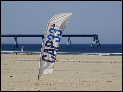 Cap 33 - Activités sportives sur les plages au Pyla et à la Salie Nord