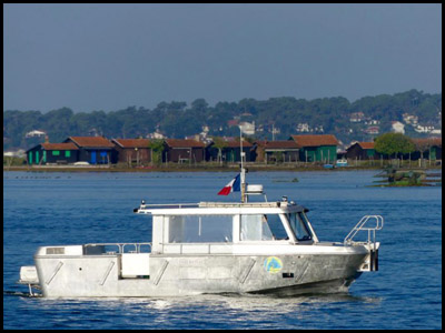 Le passeur, bateau taxi Bassin d'Arcachon Moulleau Pyla