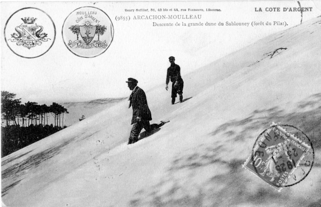 dunes du pilat la corniche