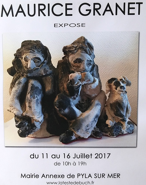 Exposition Maurice Granet Pyla 2017