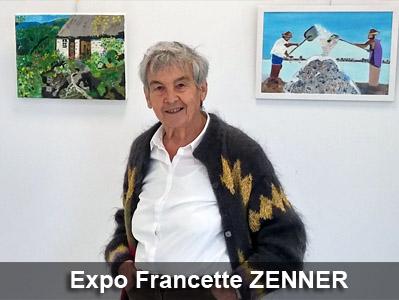 Francette ZENNER, artiste peintre