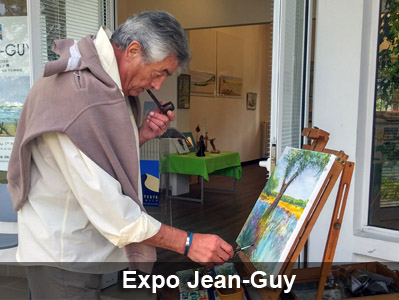 Jean-Guy, peintre aquareliste