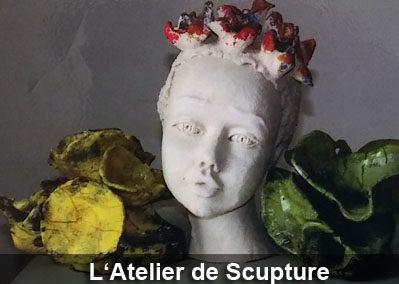 Expo l'atelier de sculpture