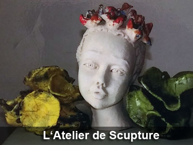 Expo l'atelier de sculpture